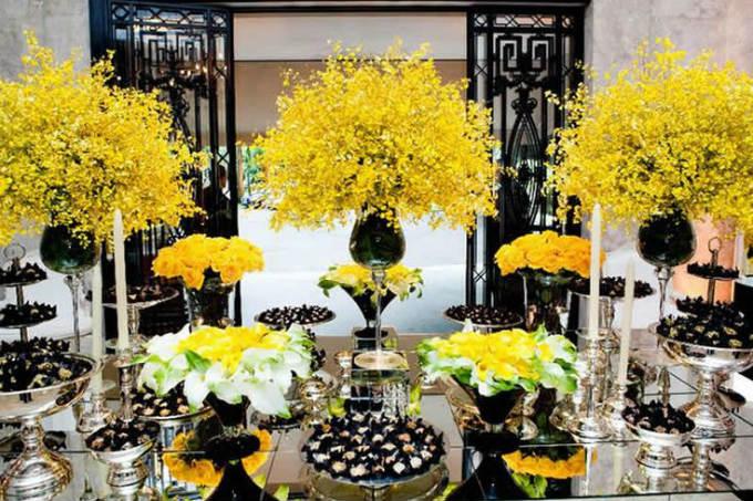 A cor do verão na decoração do seu casamento!