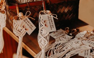 Lembrancinhas de Casamento: inspire-se e surpreenda seus convidados